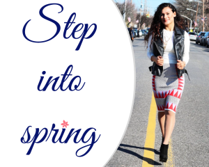 step into spring for email